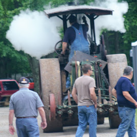 Steam Show  by Sarah Maria Bagay - City,  Street & Park  Neighborhoods