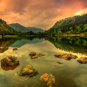 Lower Lake by Alnor Prieto - Landscapes Waterscapes