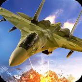 Jet Fighter Air Attack 3D Game Fly F18 Flight Free APK baixar