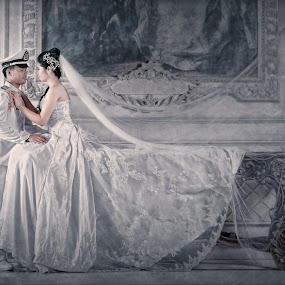 by Ch Arief - Wedding Bride & Groom