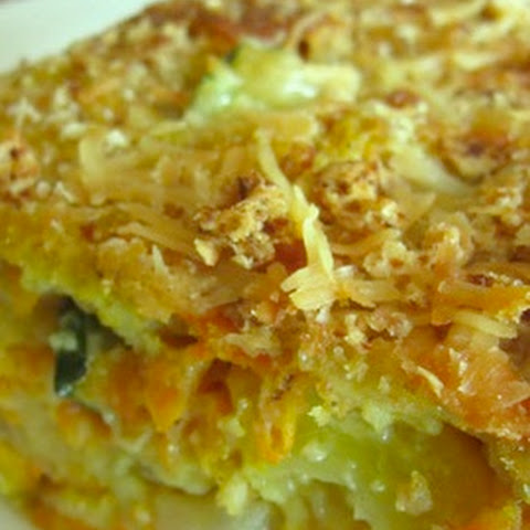 Light-as-a-Feather Zucchini Casserole