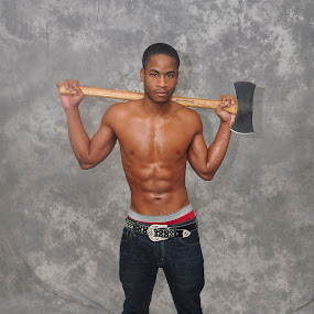 The Lumber Jack by Marcus Robinson Photos - People Portraits of Men