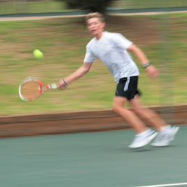 Moving fast by Danie Minnaar - Sports & Fitness Tennis ( fitness, movement, sport, fast, tennis )