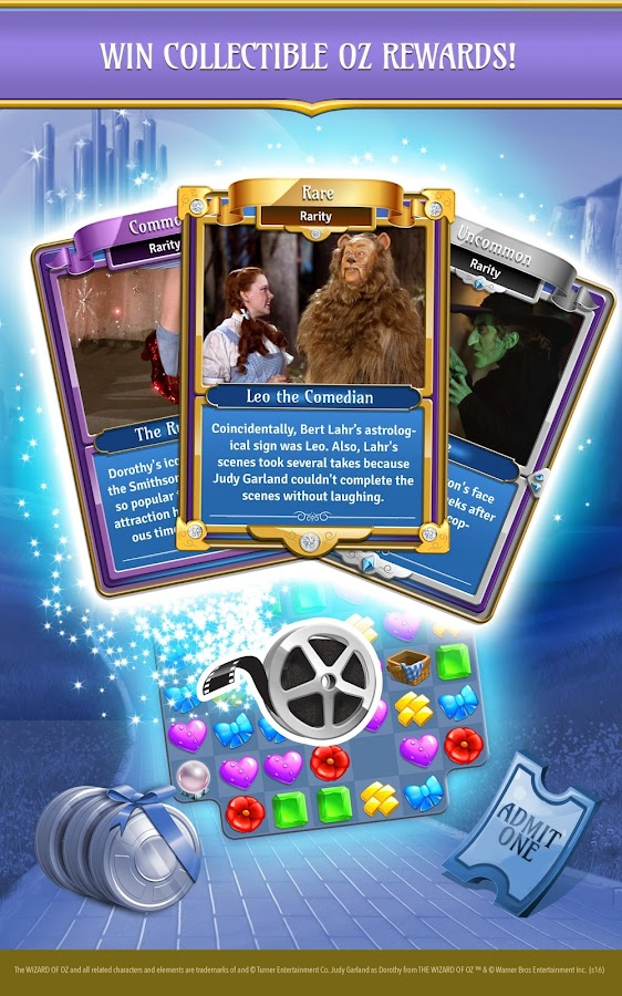 Wizard of Oz: Magic Match Screenshot 8