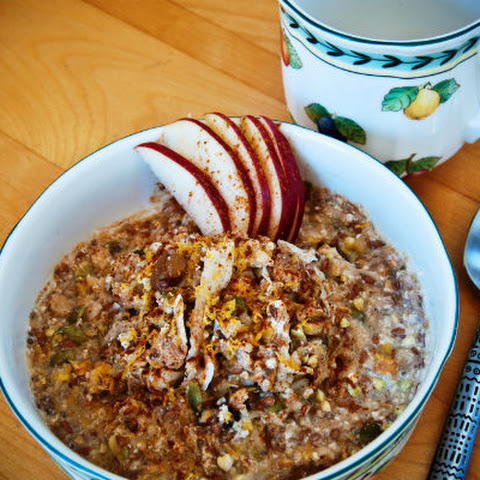 Apple Cinnamon Ginger Muesli