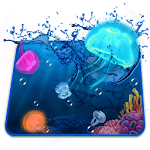 Aquarium Jelly Fish 3D Theme Icon