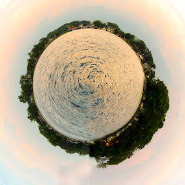 Tiny Planet by Karen Zangian - Digital Art Places