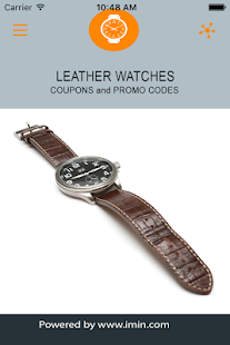 Leather Watches Coupons - ImIn - screenshot