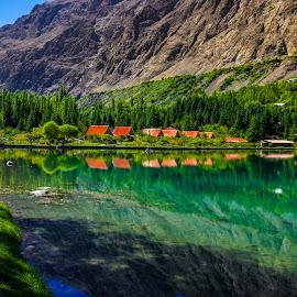 Shangrila Resort by Muhammad Awais - Landscapes Travel ( shangrila )