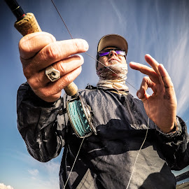 Salt Fly Fishing by Paul Smith - Sports & Fitness Other Sports ( fish, beach, fishing rod, new zealand, fly fishing )