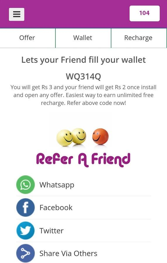 FreeCharge Screenshot 4