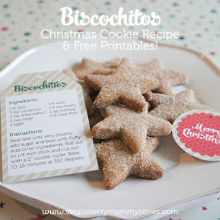 Biscochitos Christmas Cookie