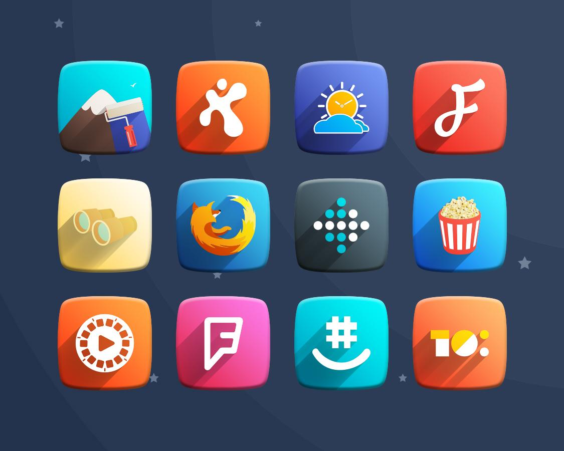 Space Z Icon Pack Theme Screenshot 7
