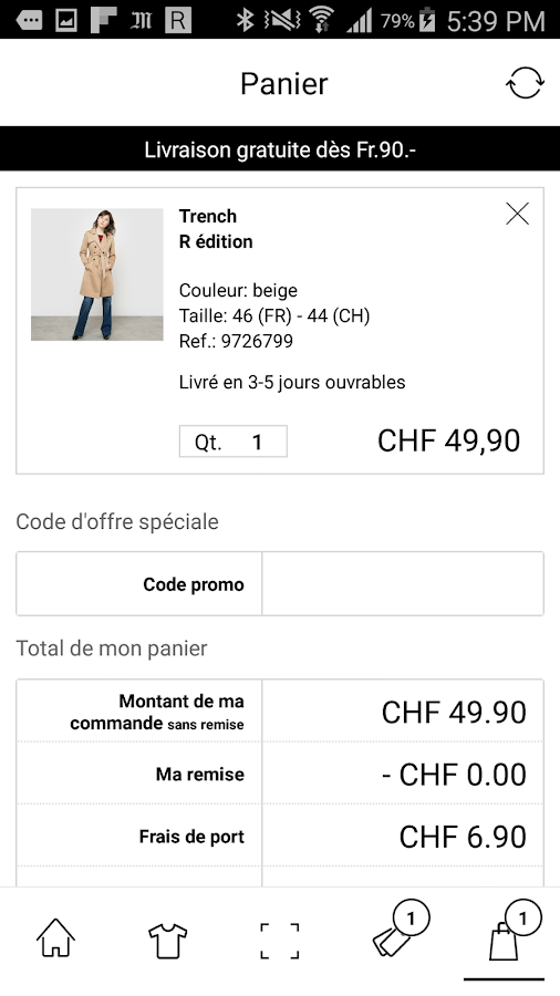 La Redoute CH-Mode & maison Screenshot 4
