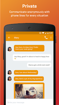 Burner - Smart Phone Numbers APK screenshot thumbnail 1
