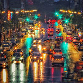 Rainy night by Jimmy Lu - Uncategorized All Uncategorized