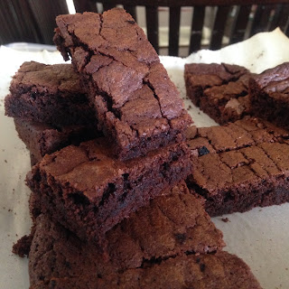 Fudgy Chewy Chocolate Brownies