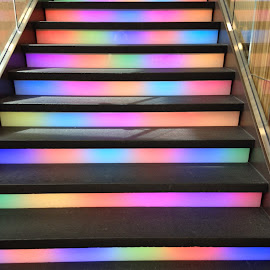 by Sandy Stevens Krassinger - Buildings & Architecture Other Interior ( rainbow of color, pattern, colorful,  )