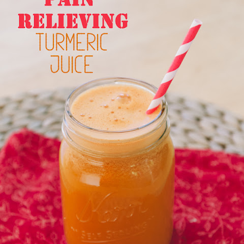 Pain Relieving Turmeric Juice