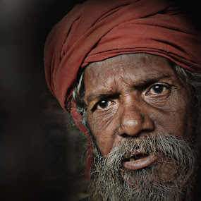 The Quest by Arnab Bhattacharyya - People Portraits of Men