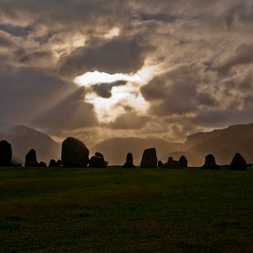 Lake District Stone Circle by Christian Rawlinson - Landscapes Mountains & Hills ( uk, england, castle rigg, christian rawlinson, lake district )