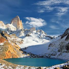 Laguna Los Tres! by Itamar Campos - Landscapes Travel ( argentina, patagonia, laguna lo tres, fitz roy, el chalten,  )