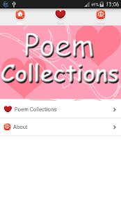 Best Love Poem Collections - screenshot
