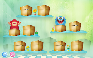 Screenshot of Monsters Puzzle Kids Games