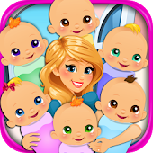Sextuplets Newborn Baby Birth - Pregnancy Games  for Android