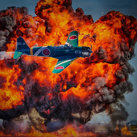 Fireball by Ron Meyers - Transportation Airplanes