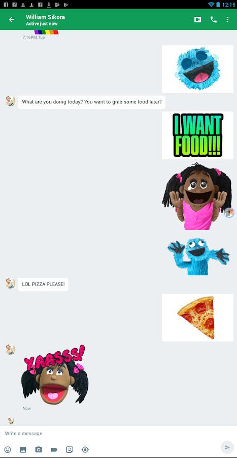 Fluffymoji - Aufkleber & Emoji Keyboard android apps download