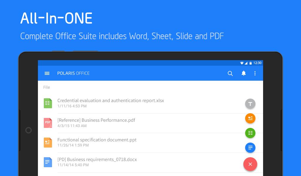 Polaris Office - Word, Docs, Sheets, Slide, PDF Screenshot 16