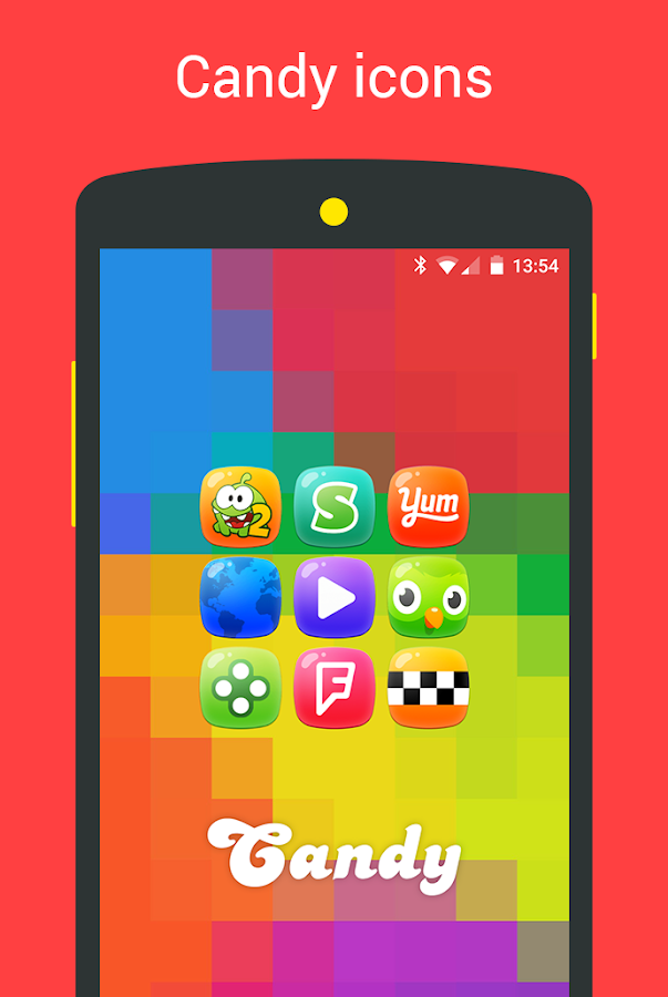 Candy - icon pack Screenshot 1