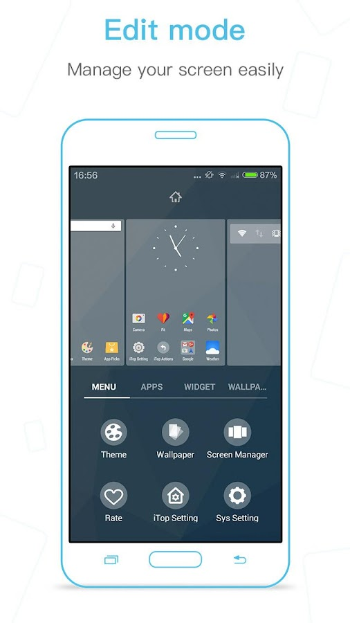 iTop Marshmallow Launcher -6.0 Screenshot 2