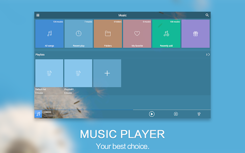 Music Player - Audio Player- screenshot thumbnail