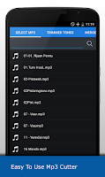 Screenshot of MP3 Cutter