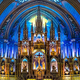 Notra Dame Montreal by Darren Sutherland - Buildings & Architecture Places of Worship ( montreal, montreal.quebec city )