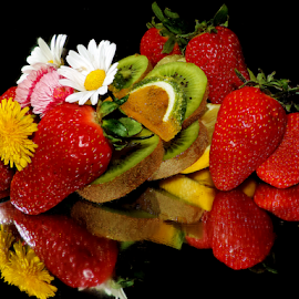 fruits,candy and flowers by LADOCKi Elvira - Food & Drink Fruits & Vegetables ( candy, fruits )
