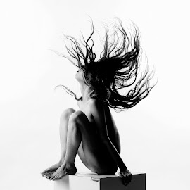 S T O R M  by Sarbani Bhattacherjee - Nudes & Boudoir Artistic Nude