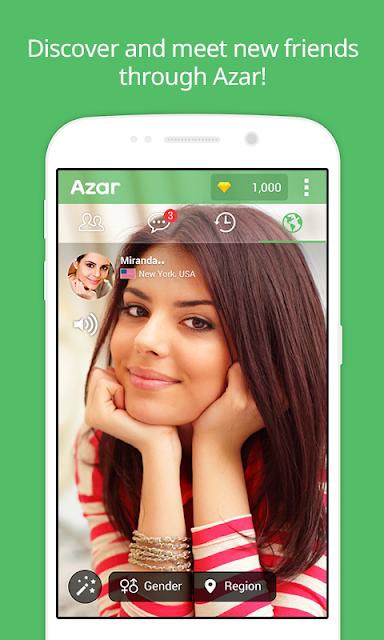 Azar-Video Chat&Call,Messenger screenshots