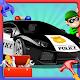 Build a Police Car & Fix It