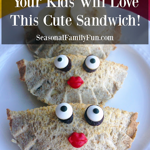 Cute Face Sandwich