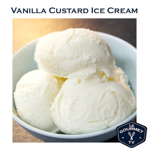 Vanilla Custard Ice Cream