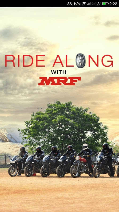 Ride Along-Biker's Cricket App Screenshot