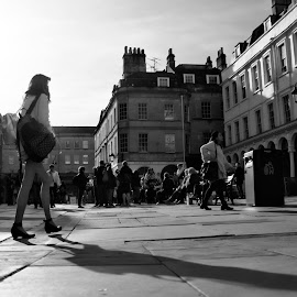 by Quentin Robertson - City,  Street & Park  Street Scenes