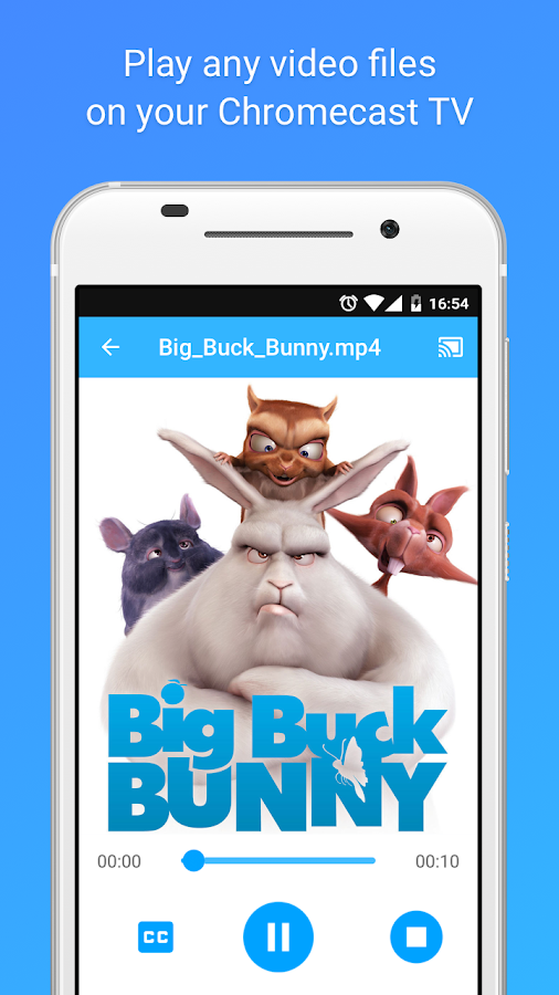 MegaCast - Chromecast player Screenshot