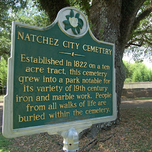 Established in 1822 on a ten acre tract, this cemetery grew into a park notable for its variety of 19th century iron and marble work. People of all walks of life are buried within the cemetery.