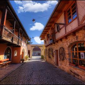 from village  by Jana Vondráčková - City,  Street & Park  Vistas
