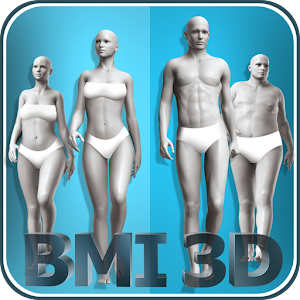 BMI 3D - Body Mass Index and body fat in 3D Online PC (Windows / MAC)