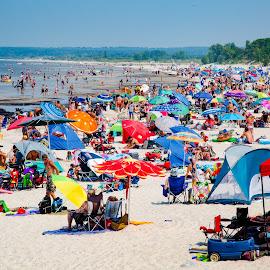 Grand Beach by Dave Lipchen - People Street & Candids ( grand beach,  )